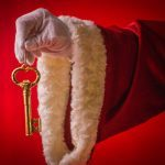 How Does Santa Get Into a House Without a Chimney? His Secret Key, of Course!