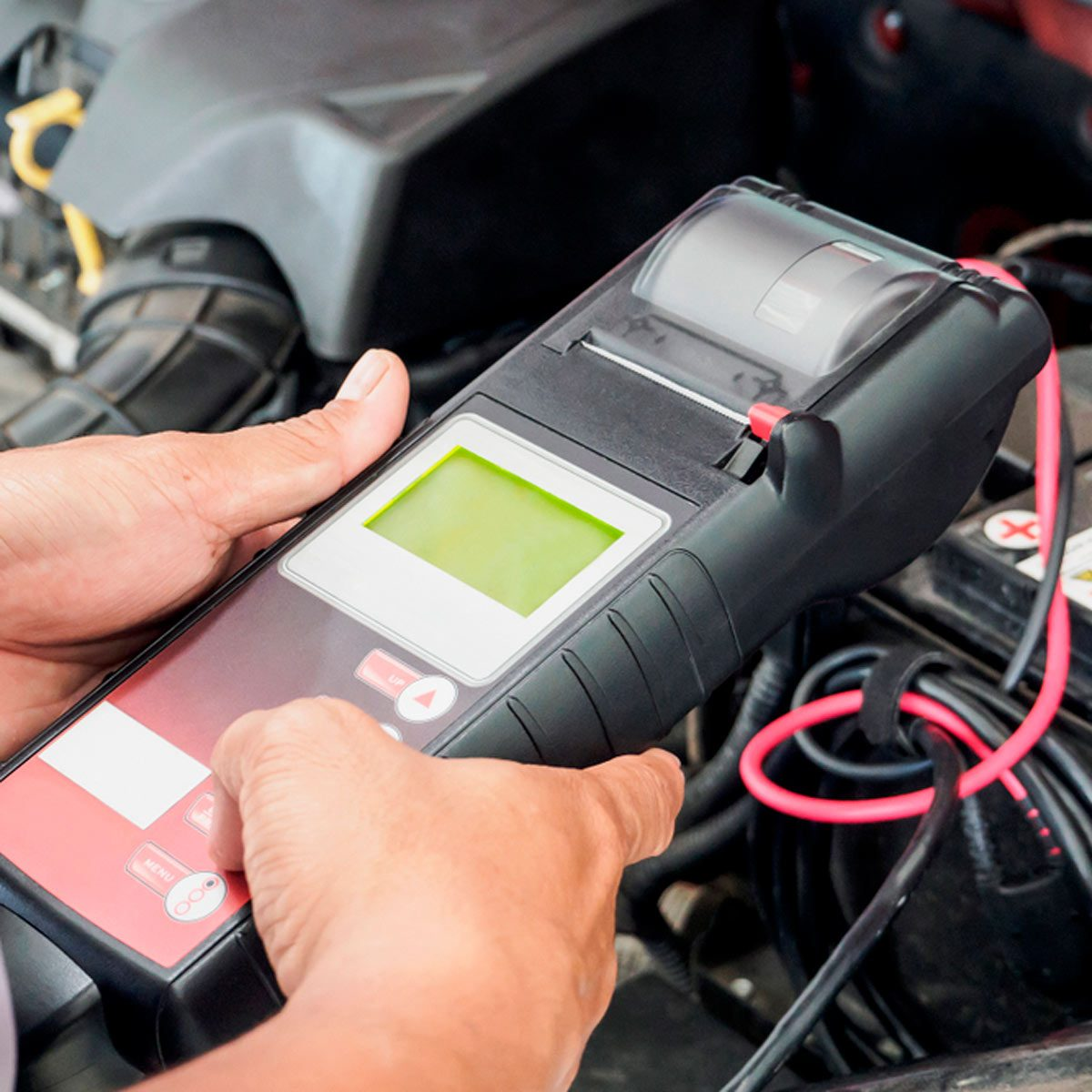 How To Test An Alternator With One Tool The Family Handyman Root Cause 2005 Dodge Ram Fuse Box Voltmeter