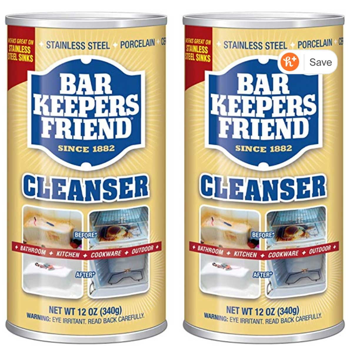 stainless steel bar keepers friend