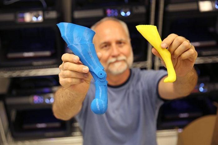 3D-dog prosthetic