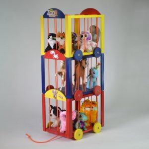 How to Make a Circus Train for Stuffed Animals