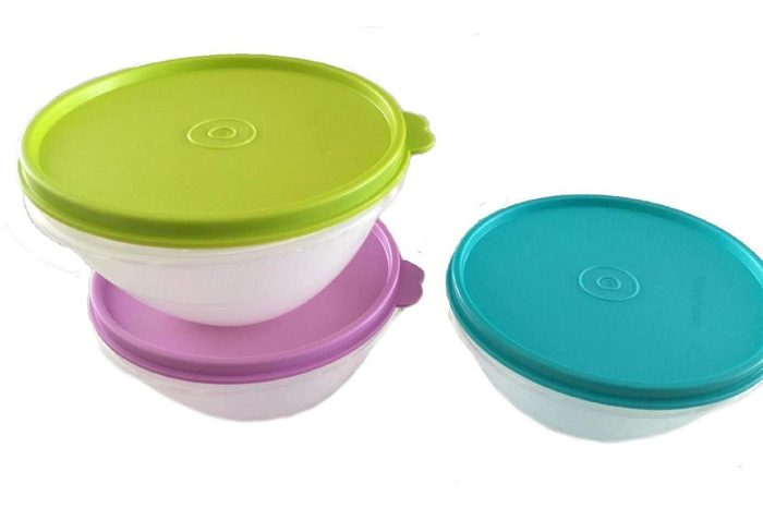 Tupperware Lidded Bowls