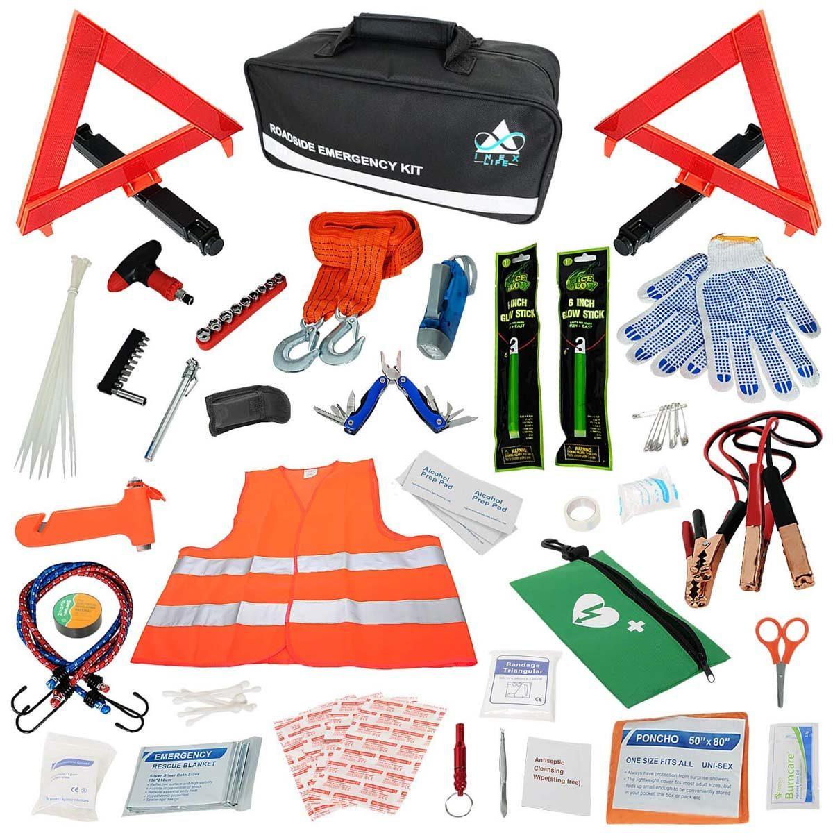 Car Emergency Roadside Assistance Kit