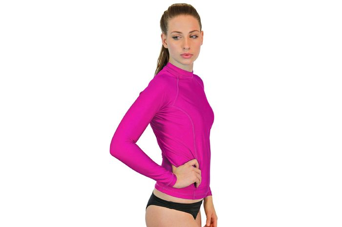 Goddess Long Sleeved Rash Guard