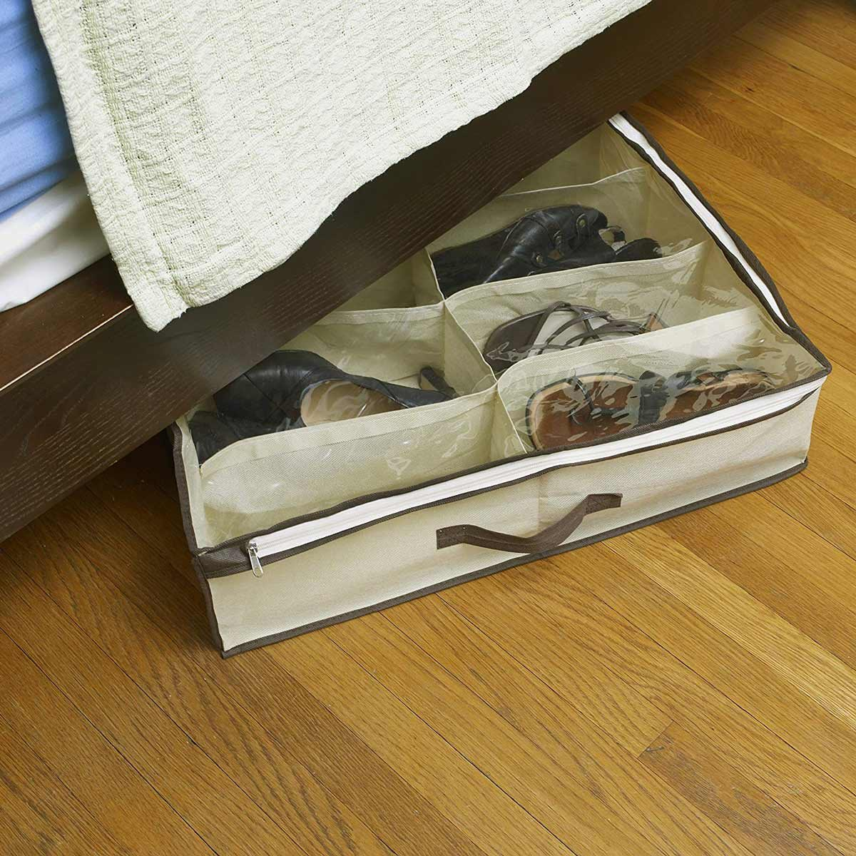Under Bed Shoe Organizer for Kids