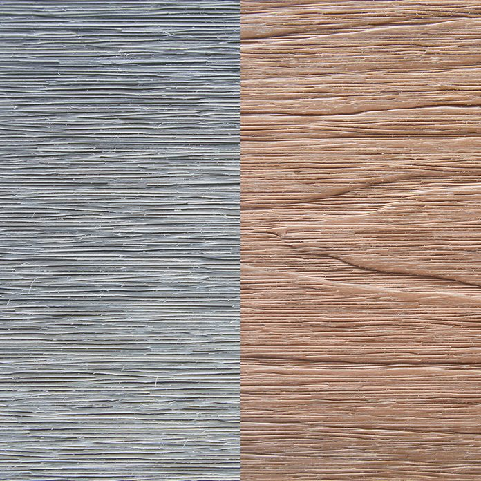 Two examples of deck color and grain | Construction Pro Tips