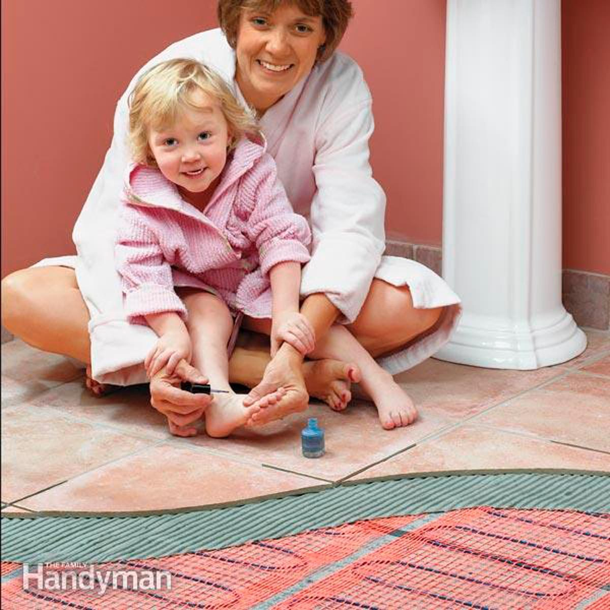 How To Install In Floor Heat Radiant Installation The Family Underfloor Heating Wiring Diagrams Handyman