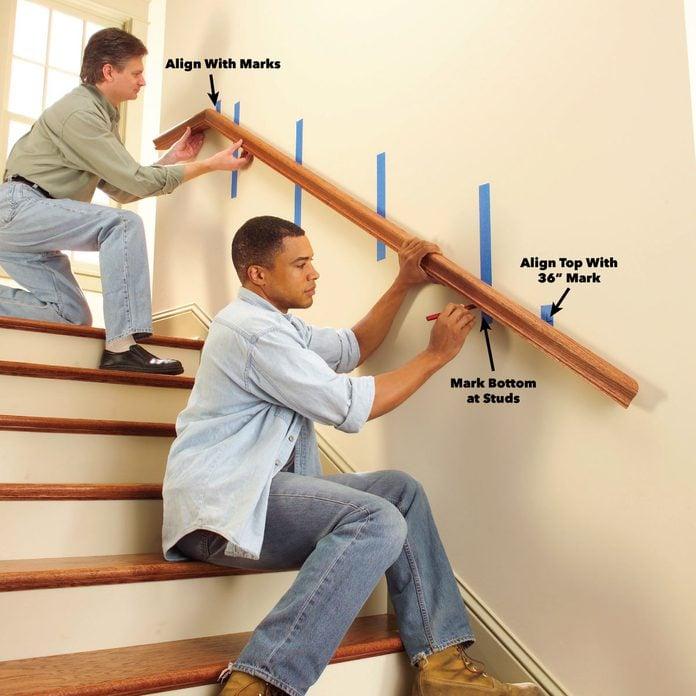 position handrailing