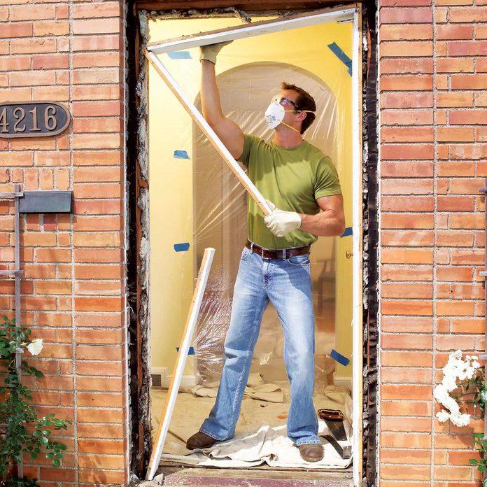 remove door jambs