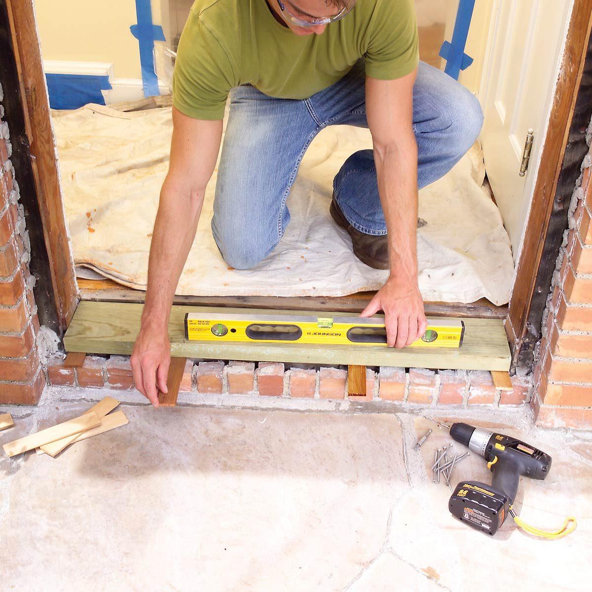 install door sill