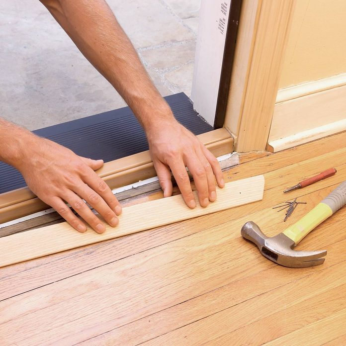 Install interior trim