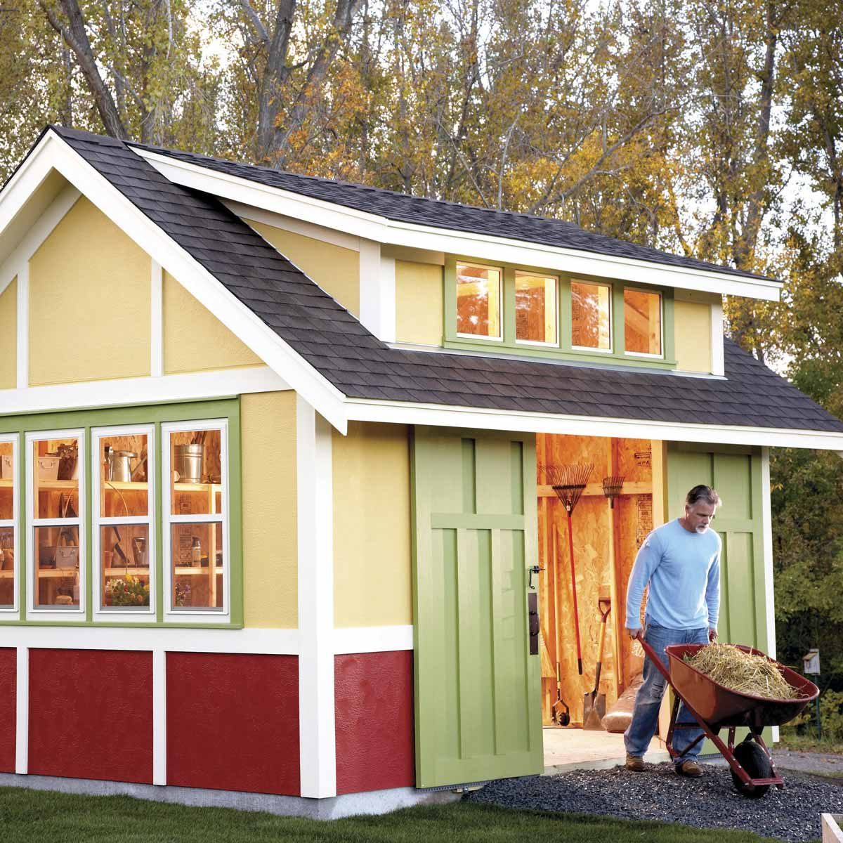 How To Build A Shed 2017 Garden Family Handyman