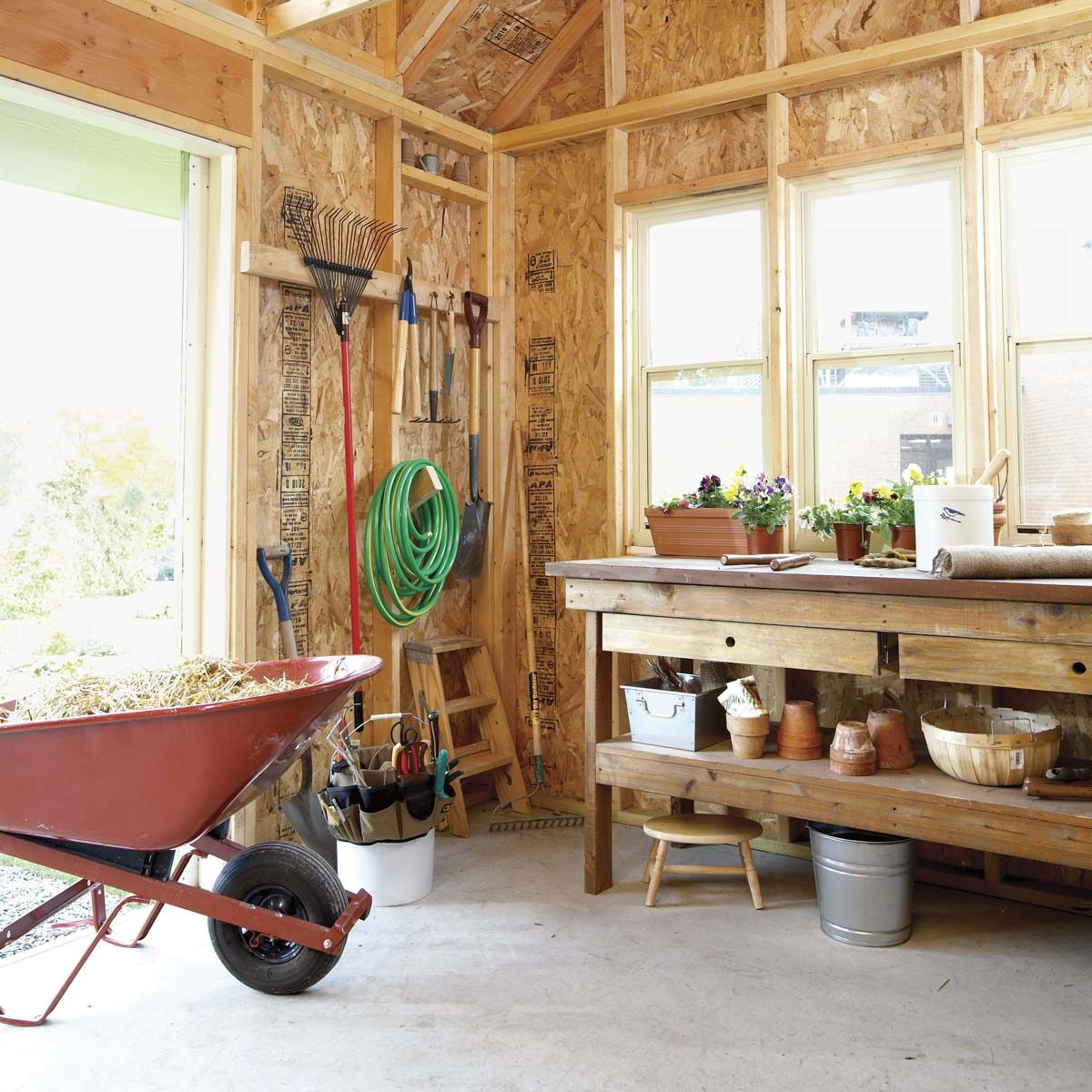 How to Build a Shed: 2011 Garden Shed | Family Handyman