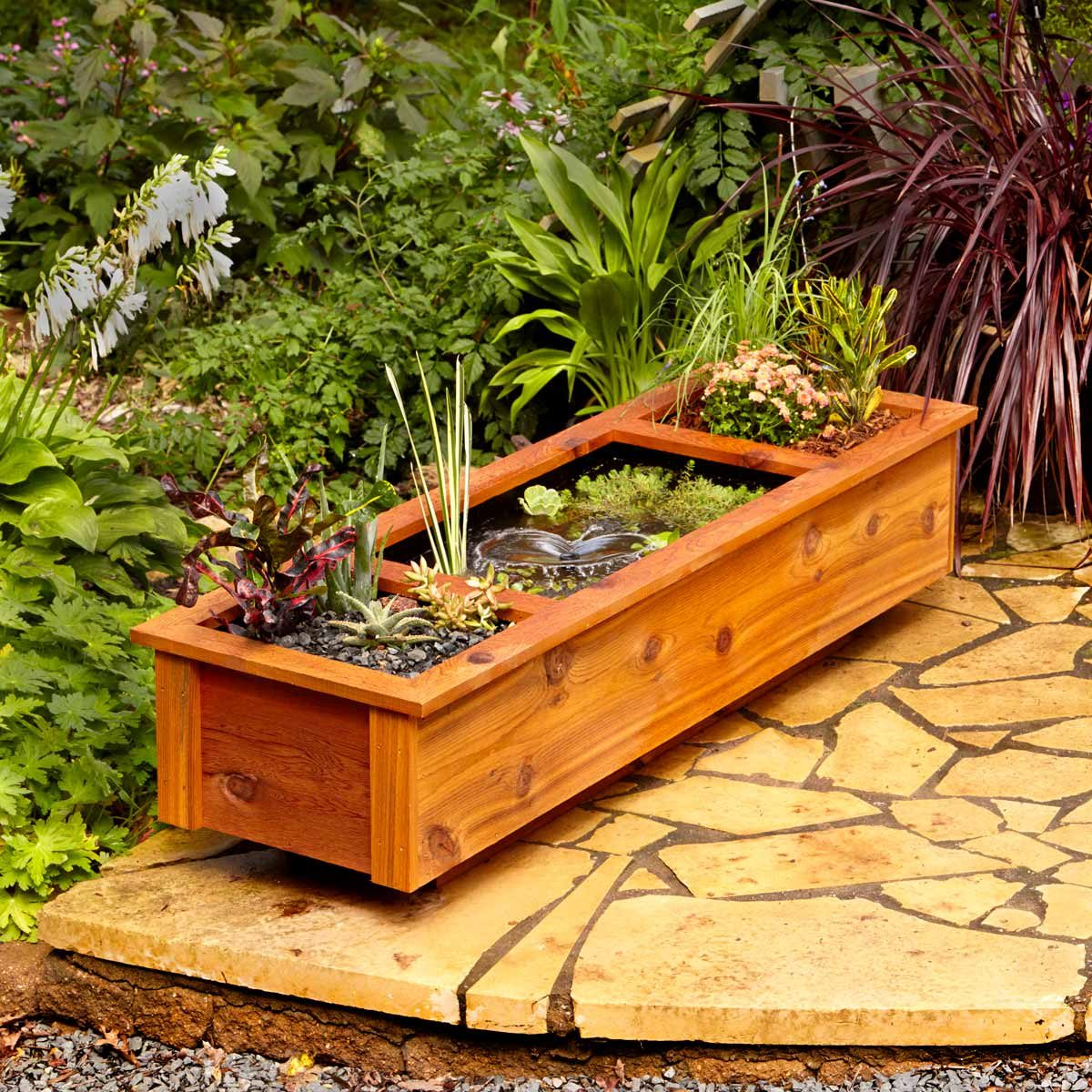 garden water feature garden trends