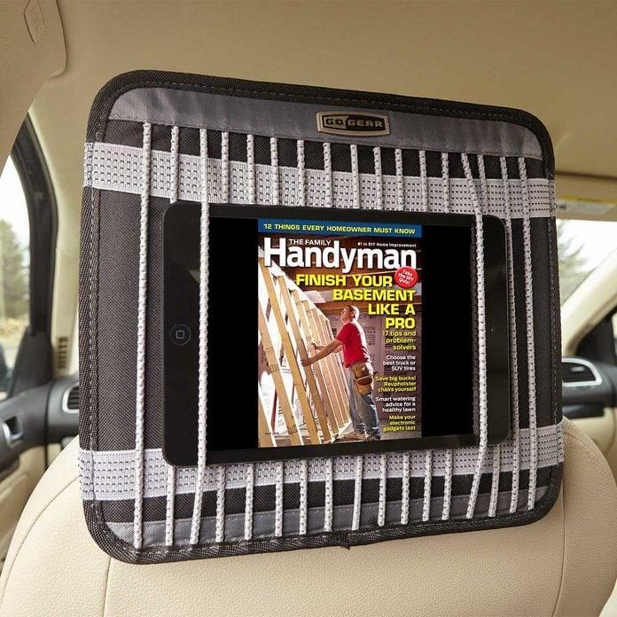 tablet in car