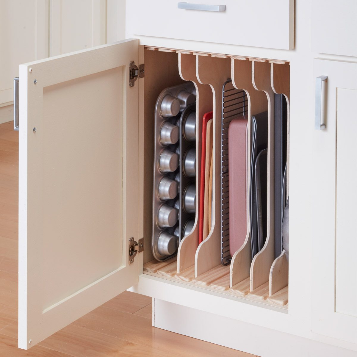Kitchen Cabinet Organizers Diy Dividers