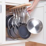 12 Creative Solutions For Storing Pots and Pans
