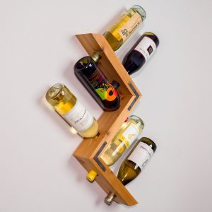 Saturday Morning Workshop: How to Build a Wall-Mounted Wine Rack