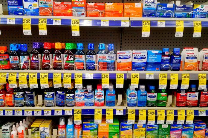 OTC Medicine at Walgreens