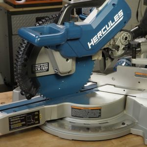 Our Favorite Sliding Miter Saw from Harbor Freight