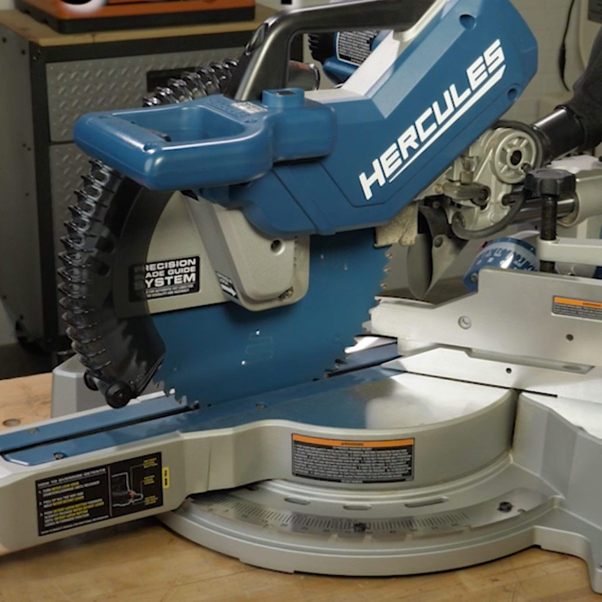 Our Favorite Sliding Miter Saw from Harbor Freight | Family Handyman