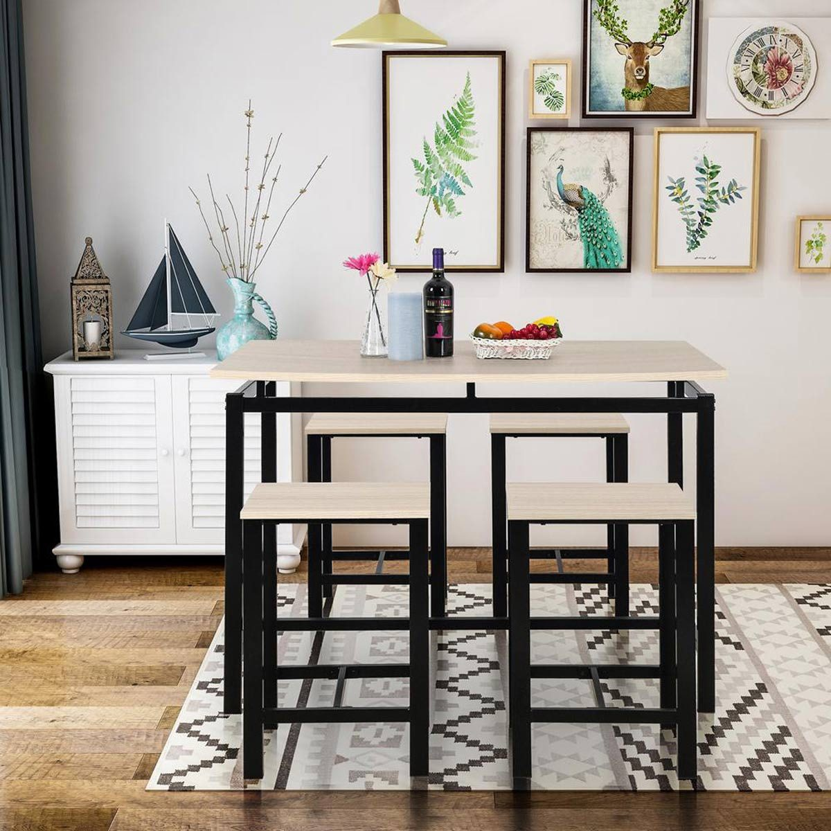 dining room set bar stools