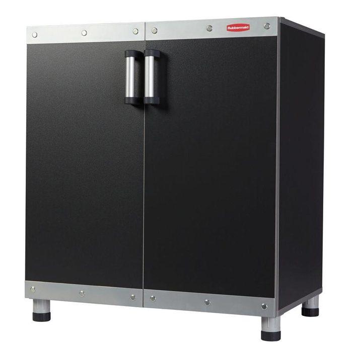 rubbermaid garage cabinet