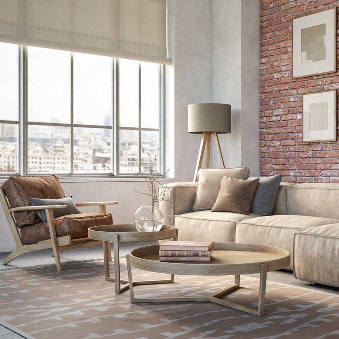 Overstuffed furniture