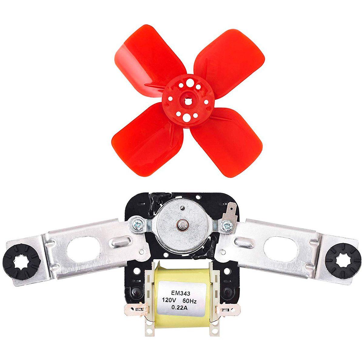 refrigerator condenser fan