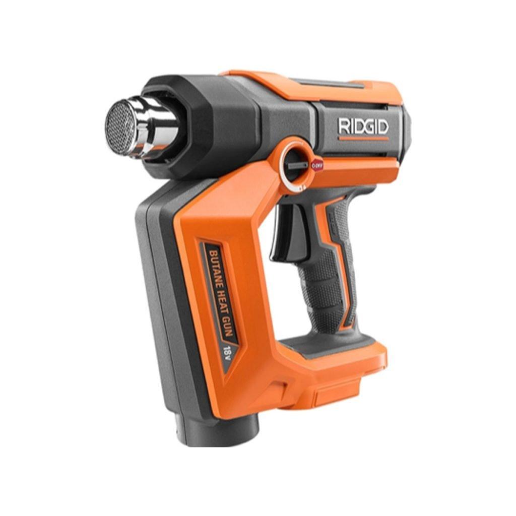 Orange RIDGID Butane Heat Gun | Construction Pro Tips
