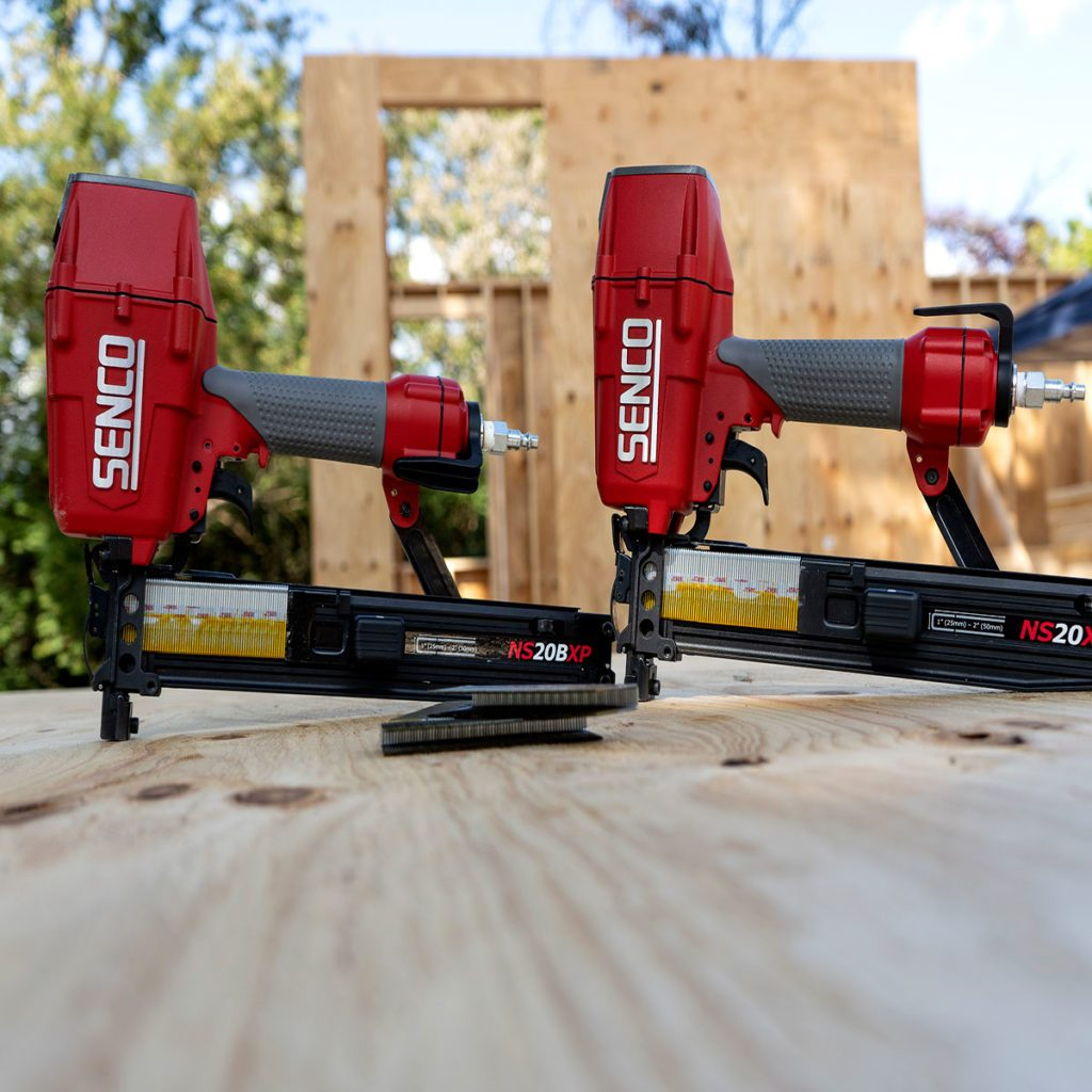 Two sets of Senco construction staplers | Construction Pro Tips