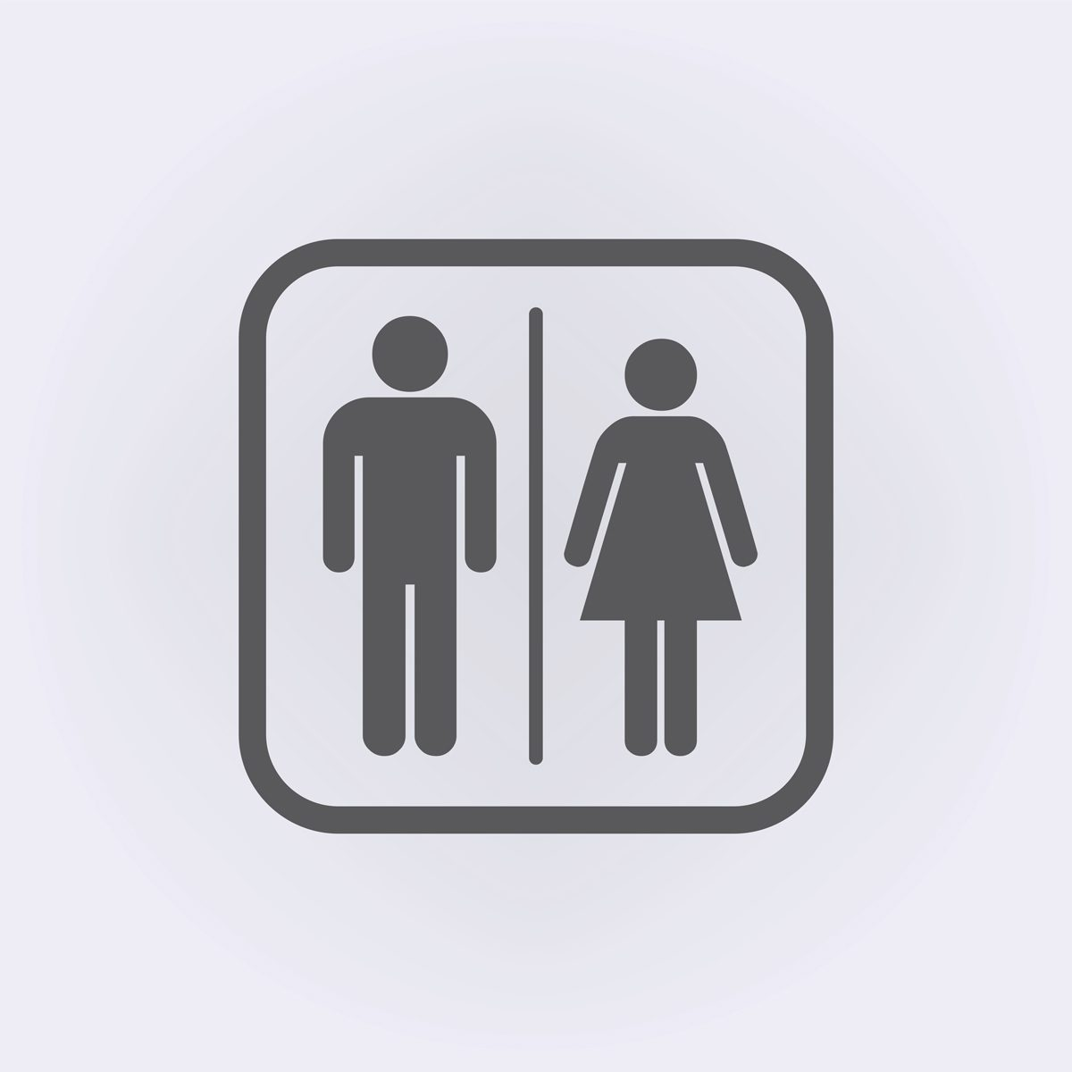 bathroom habits: the difference between men and women