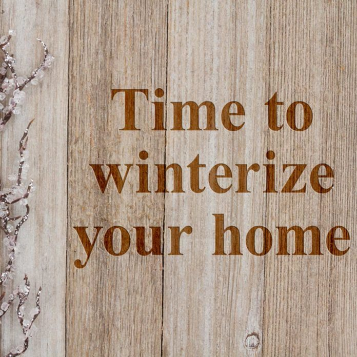 How to Winterize Your Home in a Weekend