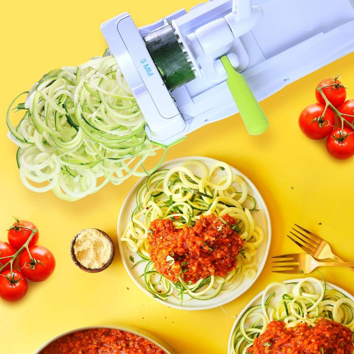Vegetable Spiral Slicer With Powerful Suction Base