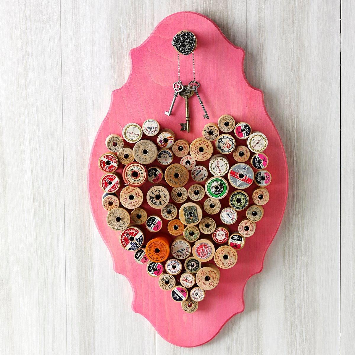 spool wall art
