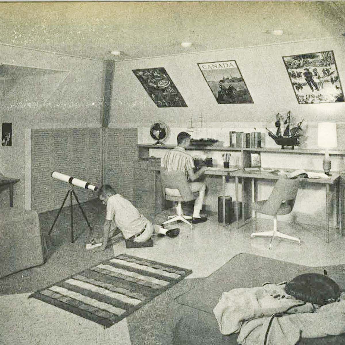 What Houses Used to Look Like 50 Years Ago