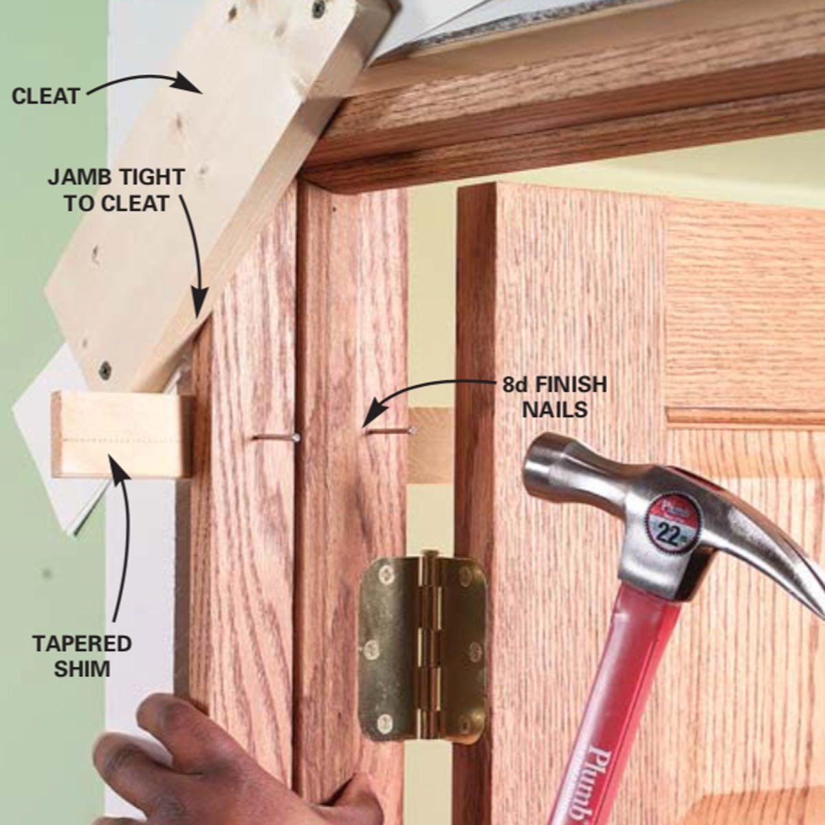 How To Replace An Interior Door Prehung Replacement Family