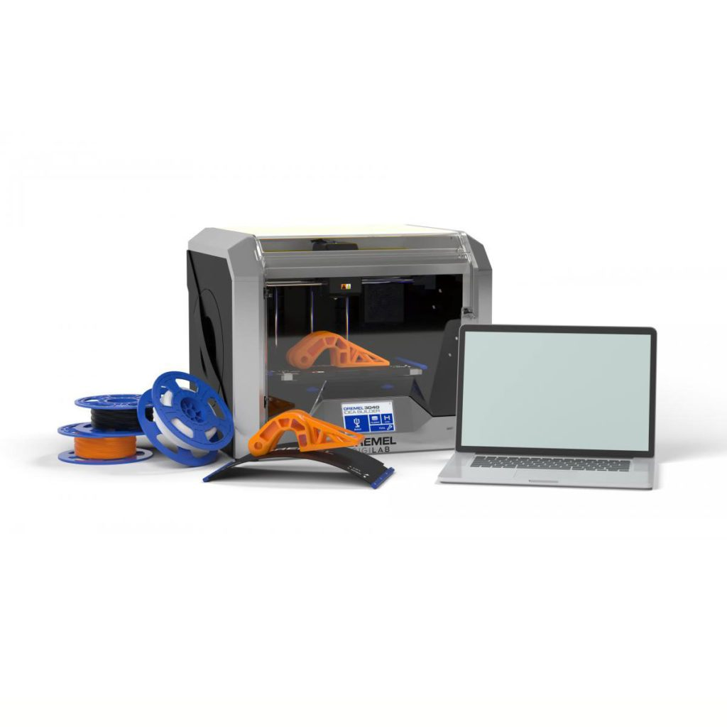 3D printer with printed components around it | Construction Pro Tips