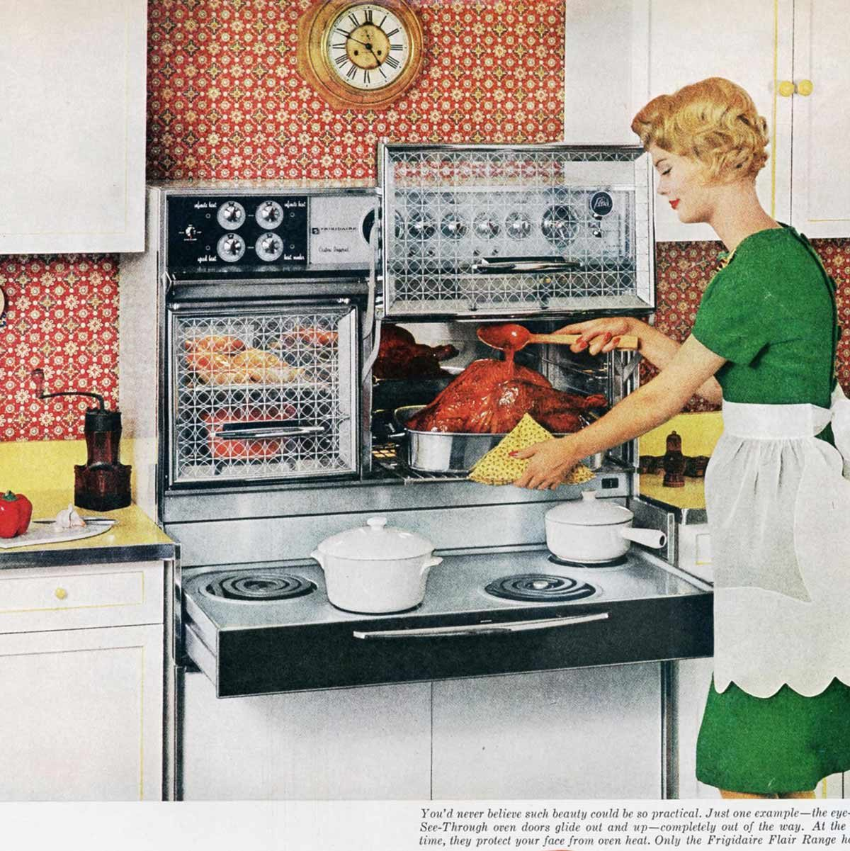 Kitchen Of The Future: Astounding Ways The 1950s 'Kitchen Of The Future' Was Spot On