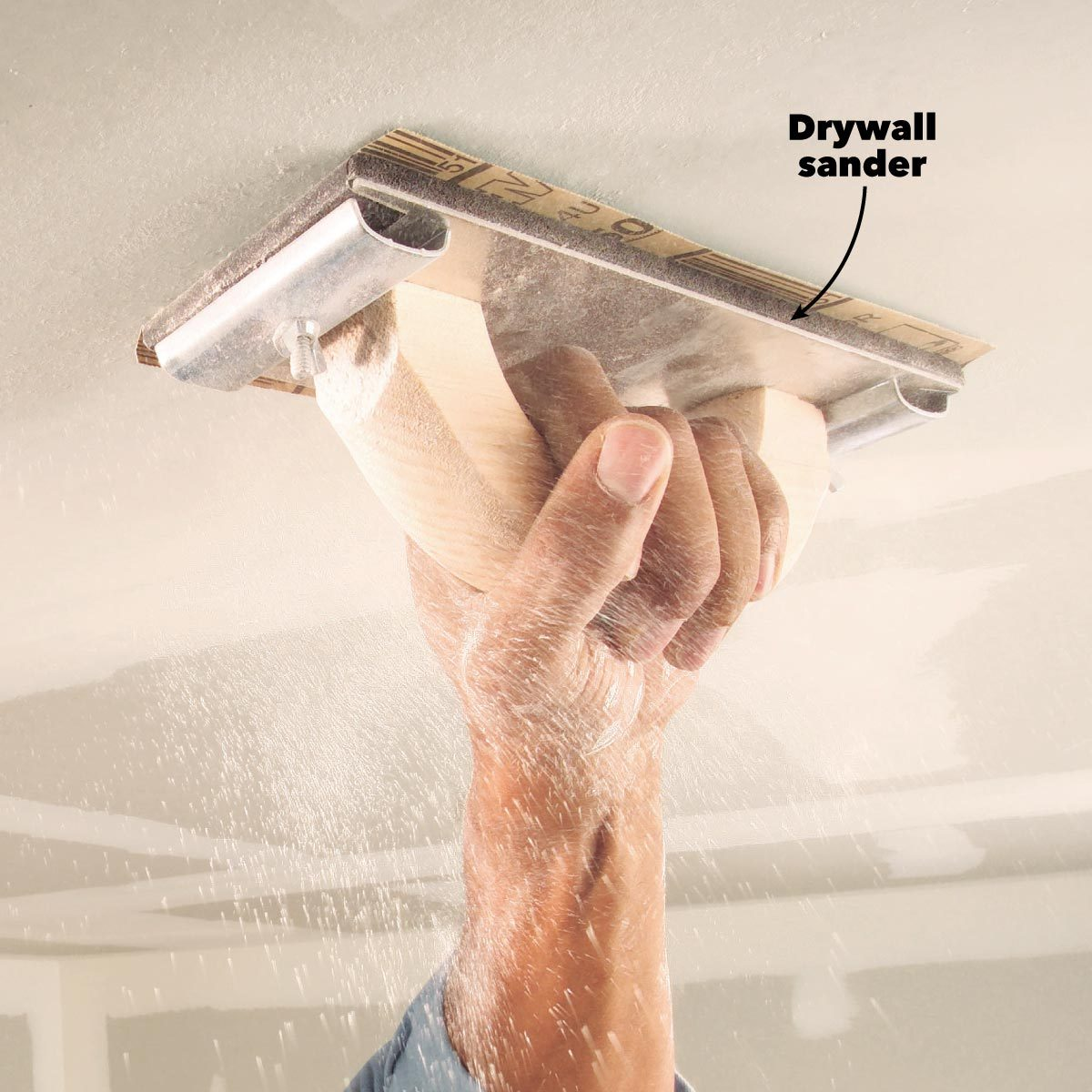 drywall sander finishing