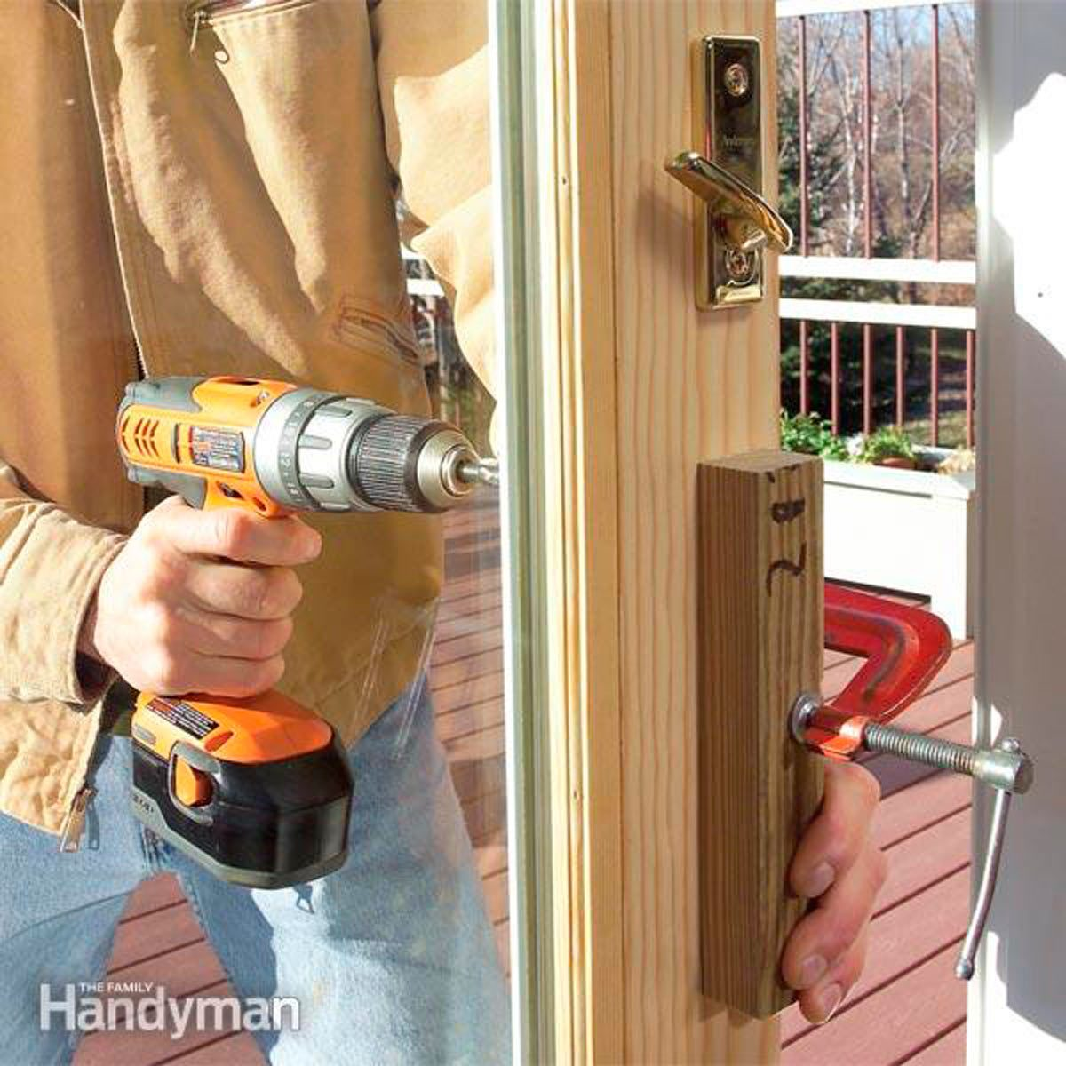How To Replace A Patio Door Step By With Pictures