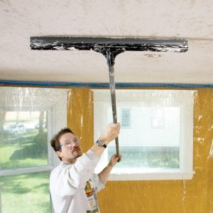 How to Apply Knock Down Texture