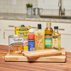 Wood Finishes That are Food Safe