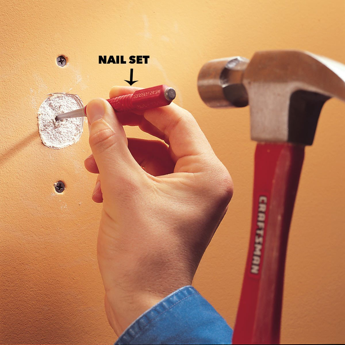 How to Fix Popped Drywall Nails and Screws | Family Handyman