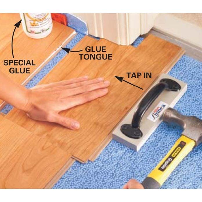Installing Laminate Flooring Diy, Snap Laminate Flooring