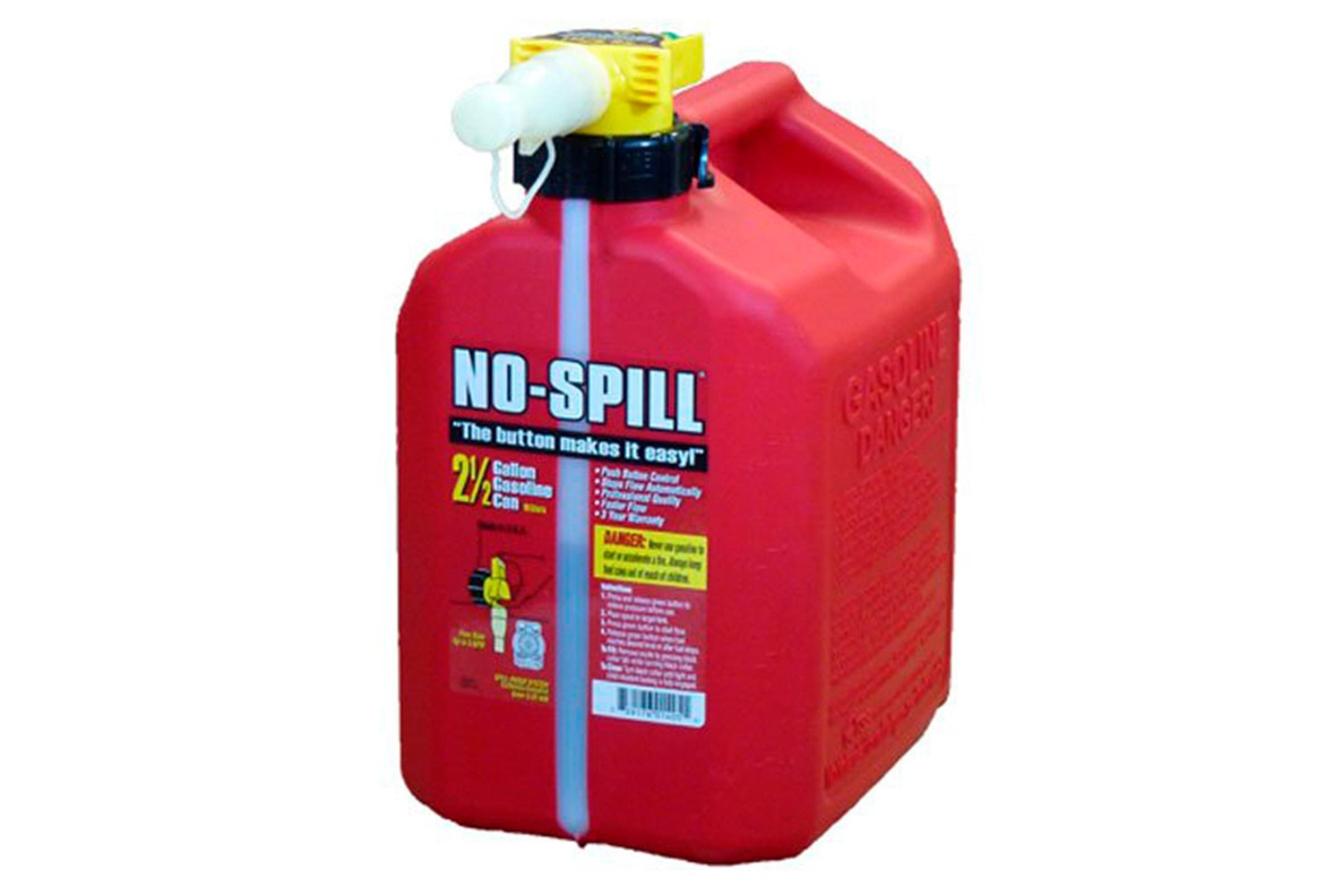 No spill gas can