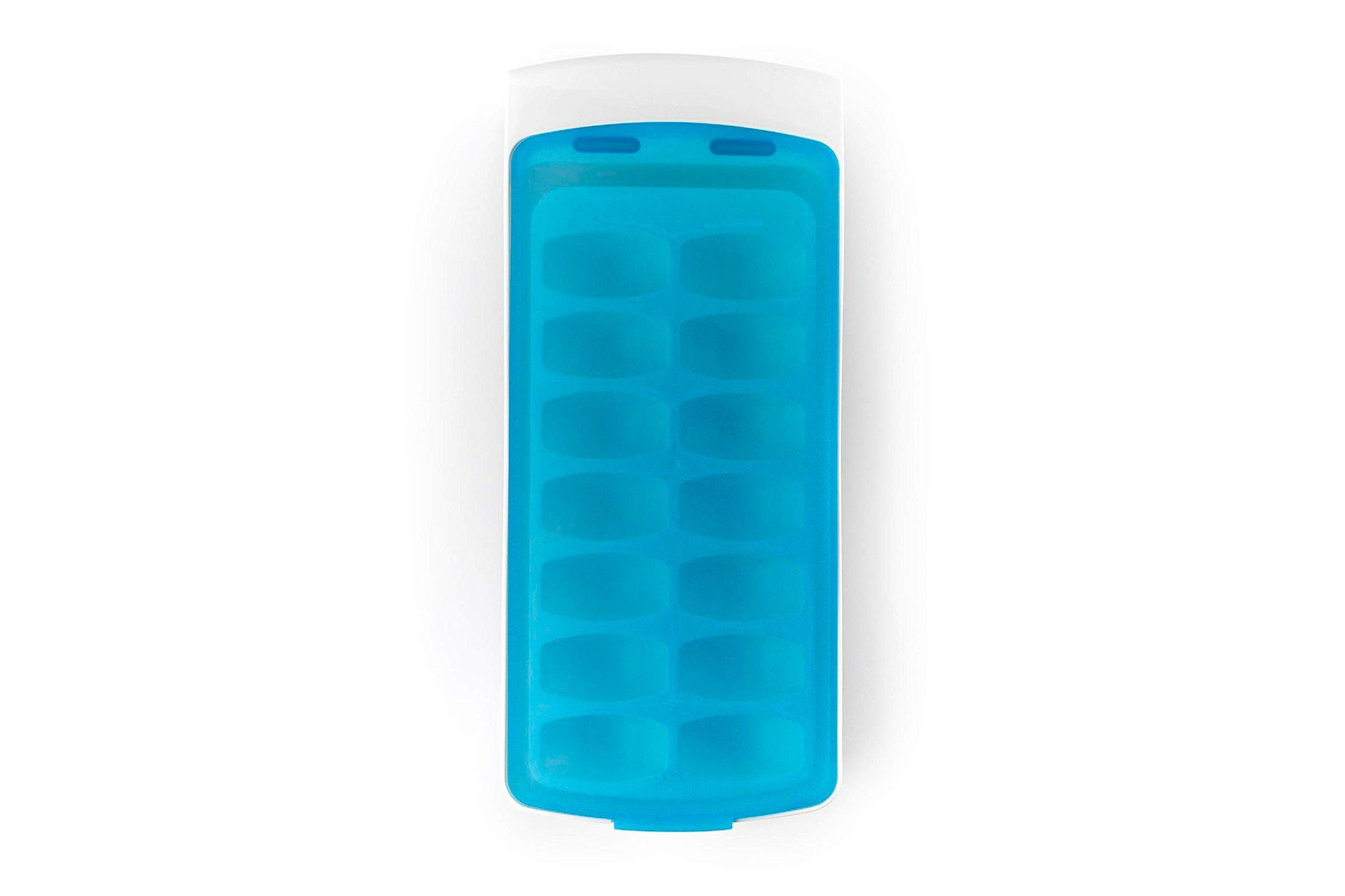 No spill ice tray
