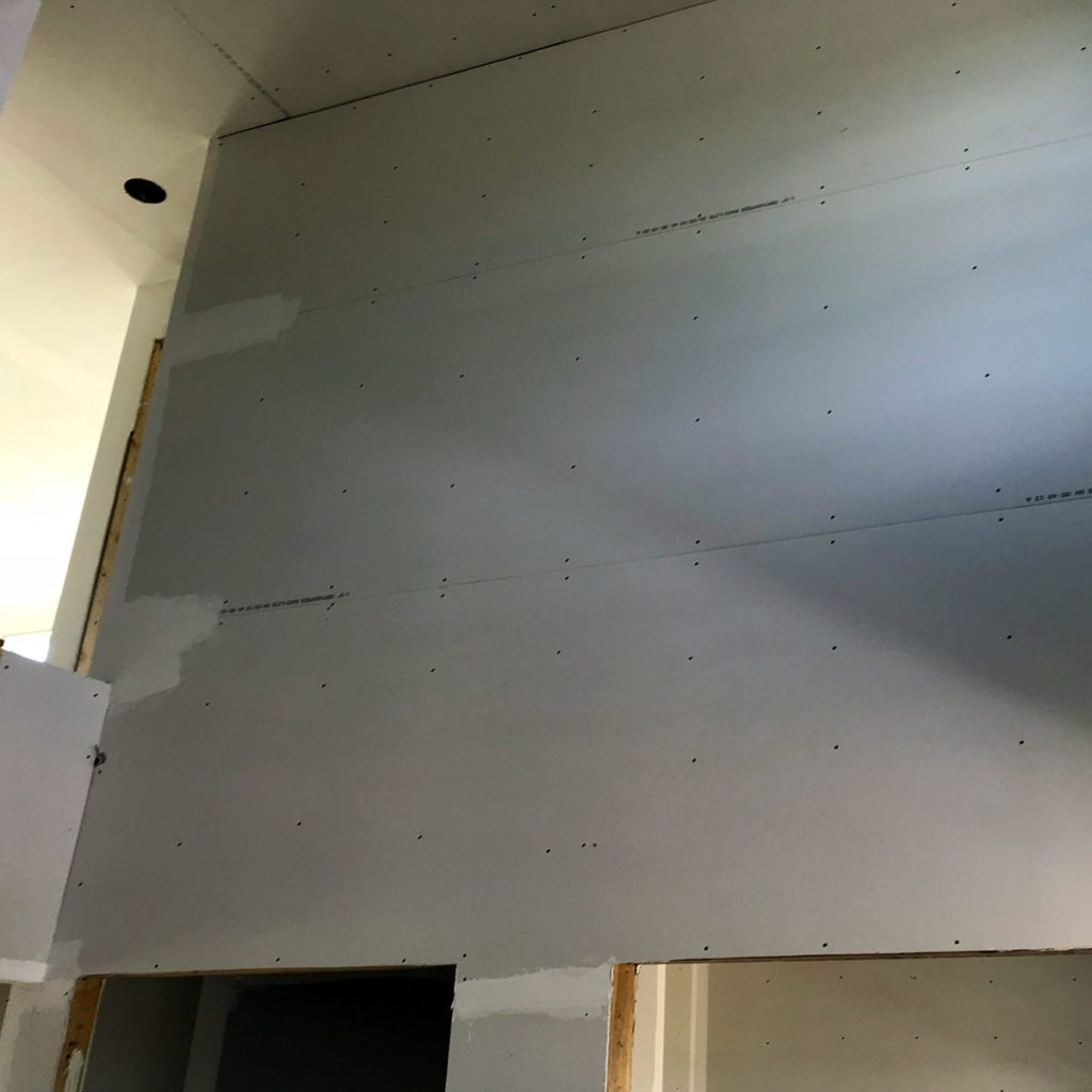 A wall of drywall | Construction Pro Tips