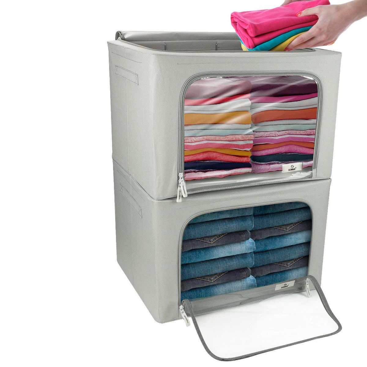 Save Space With These 10 Stackable Storage Bins