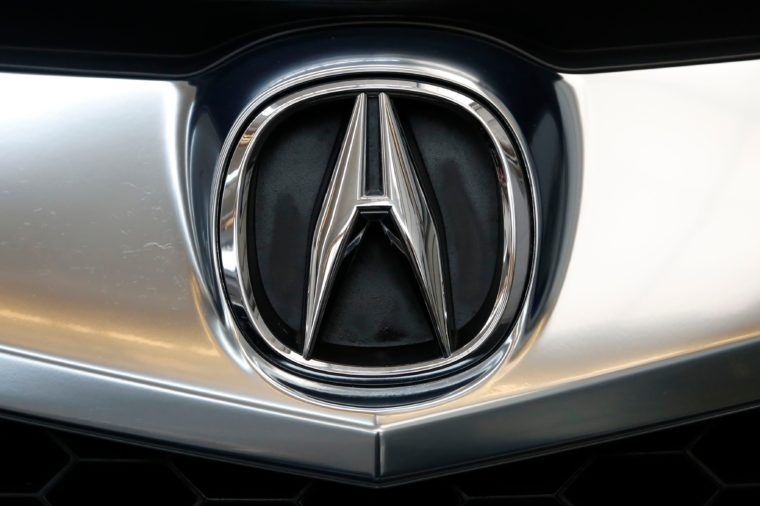 Acura Automobiles, Pittsburgh, USA - 15 Feb 2018